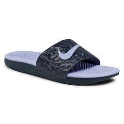 Nike Šlepetės Nike Kawa Slide (GS/PS) 819352 405 Thunder Blue/Purple Pluse