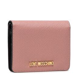 LOVE MOSCHINO Maža Moteriška Piniginė LOVE MOSCHINO JC5562PP0ALQ0601 Cipria