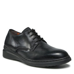 Clarks Pusbačiai Clarks Dennet Low 261629127 Black Leather