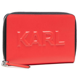 KARL LAGERFELD Велике жіноче портмоне KARL LAGERFELD 211W3217 Tangerine