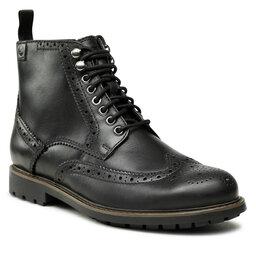 Clarks Ilgaauliai Clarks Bowzer Hi 261627627 Black Leather