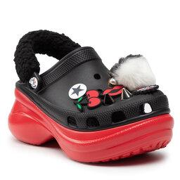 Crocs Šlepetės Crocs Classic Cruella Beaw 207400 Black/Red