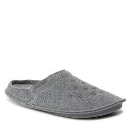 Crocs Naminės šlepetės Crocs Classic Slipper 203600 Charcoal/Charcoal
