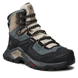 Salomon Turistiniai batai Salomon Quest Element Gtx W GORE-TEX 414574 20 V0 Ebony/Rainy Day/Stormy Weather