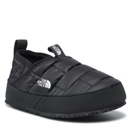 The North Face Naminės šlepetės The North Face Youth Thermoball Traction Mule II NF0A39UXKY4 Tnf Black/Tnf White
