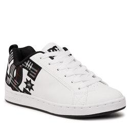 DC Снікерcи DC Court Graffik 300678 White/Plaid/Black (Ipk)