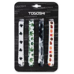 Togoshi Batų raištelių komplektas Togoshi TG-LACES-120-4-MEN-007 Spalvota