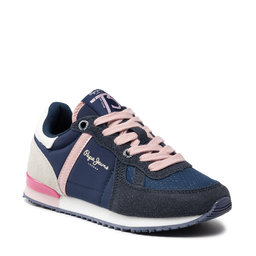 Pepe Jeans Снікерcи Pepe Jeans Sydney Combi Girl PGS30515 Navy 595