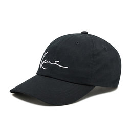 Karl Kani Kepurė su snapeliu Karl Kani Kk Signature Cap 7030214 Black/White