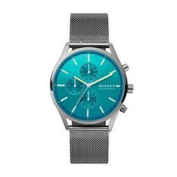 Skagen Годинник Skagen Holst SKW6734 Grey/Blue