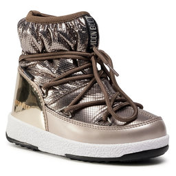 Moon Boot Снігоходи Moon Boot Jrgirl Low Nylon Premium Wp 34052300001 M Platinum