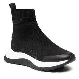 Calvin Klein Laisvalaikio batai Calvin Klein Knit Bootie 2D HW0HW00631 Ck Black BAX