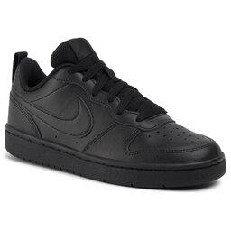 Nike Взуття Nike Court Borough Low 2 (GS) BQ5448 001 Black/Black/Black