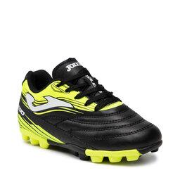Joma Взуття Joma Toledo Jr 2101 TOJS2101HG Black Lemon Flour Hard Ground