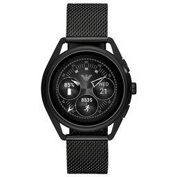Emporio Armani Смарт годинник Emporio Armani Matteo ART5019 Black