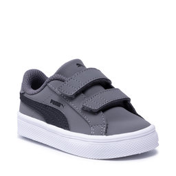 Puma Снікерcи Puma Smash Vulc Inf 370706 03 Steel Gray/P Black/P White