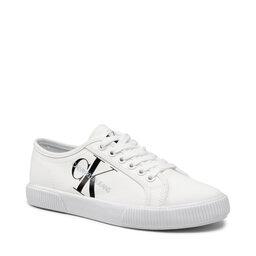 Calvin Klein Jeans Кросівки Calvin Klein Jeans Vulcanized Sneaker Laceup Co YW0YW00402 YAF Bright White