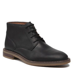 Clarks Auliniai batai Clarks Jaxen Mid 261627087 Black Leather