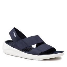 Crocs Босоніжки Crocs Literide Stretch Sandal 206081 Navy/White