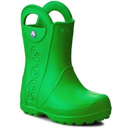 Crocs Гумові чоботи Crocs Handle It Rain Boot Kids 12803 Grass Green