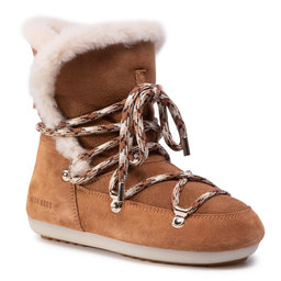 Moon Boot Снігоходи Moon Boot Dk Side High Shearling 24300100001 Whisky/Off White
