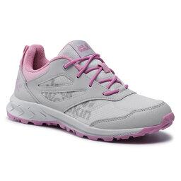 Jack Wolfskin Трекінгові черевики Jack Wolfskin Woodland Low K 4042171 Grey/Pink