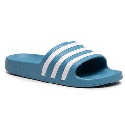 adidas Шльопанці adidas adilette Aqua FY8100 Hazblu/Ftwwht/Hazblu