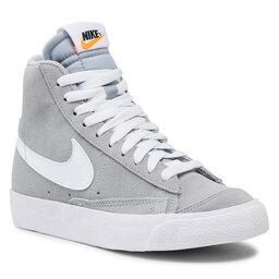 Nike Снікерcи Nike Blazer Mid '77 Suede (Gs) D3237 001 Wolf Grey/White/Black