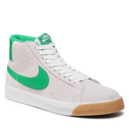 Nike Batai Nike Sb Zoom Blazer Mid 864349-106 White/Lucky Green/White