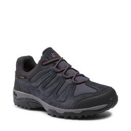 Jack Wolfskin Трекінгові черевики Jack Wolfskin Traction 2 Texapore Low 4033891 6244075 Ebony/Phantom