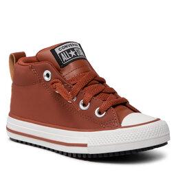Converse Sportbačiai Converse Ctas Street Boot Mid 671519C Cedar Bark/Black/Pale Putty