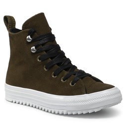 Converse Laisvalaikio batai Converse Ctas Hiker Hi 565238C Surplus Olive/White/Black