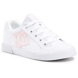 DC Снікерcи DC Chelsea ADJS300243 White/Pink/White (Wpw)