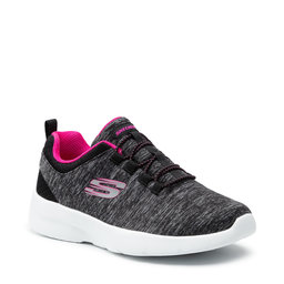 Skechers Batai Skechers In A Flash 12965/BKHP Black/Hot Pink