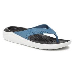 Crocs В'єтнамки Crocs Literide Flip 205182 Vivid Blue/Almost White
