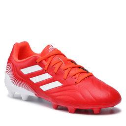 adidas Batai adidas Copa Sense.3 Fg J FY6153 Red/Ftwwht/Solred