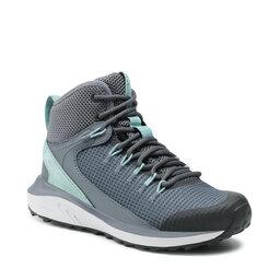 Columbia Трекінгові черевики Columbia Trailstorm Mid Waterproof BL0155 Graphite/Dusty Green 053
