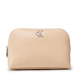 Calvin Klein Jeans Kosmetinė Calvin Klein Jeans Minimal Monogram Make Up Bag K60K608403 AEO