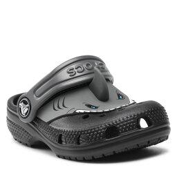 Crocs Šlepetės Crocs Fl Classic Iam Shark Clog K 207072 Black