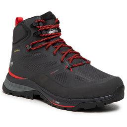 Jack Wolfskin Трекінгові черевики Jack Wolfskin Force Striker Texapore Mid M 4038821 Phantom/Red