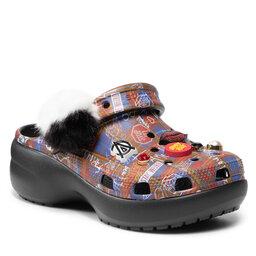 Crocs Šlepetės Crocs Classic Cruella II Platformcgw 207399 Black