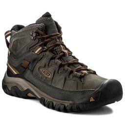 Keen Трекінгові черевики Keen Terghee III Mid Wp 1017787 Black Olive/Golden Brown