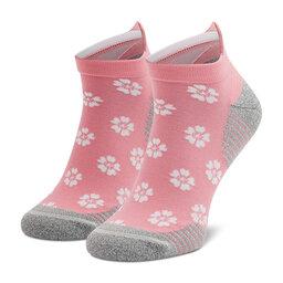 Asics Низькі жіночі шкарпетки Asics Sakura Sock 3013A576 White/Peach Petal 100