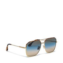 Victoria Victoria Beckham Сонцезахисні окуляри Victoria Victoria Beckham VB212S Золотий