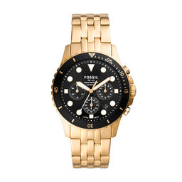 Fossil Годинник Fossil FB-01 FS5836 Gold/Gold