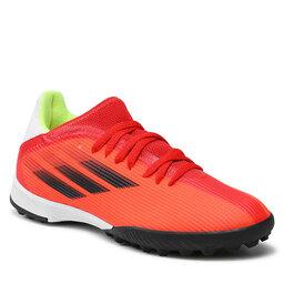 adidas Batai adidas X Speedflow.3 Tf J FY3321 Red/Cblack/Solred