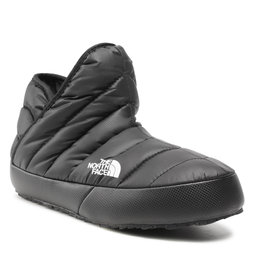 The North Face Naminės šlepetės The North Face Thermoball Traction Bootie NF0A331HKY4 Tnf Black/Tnf White