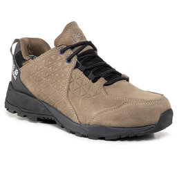 Jack Wolfskin Трекінгові черевики Jack Wolfskin Cascade Hike Lt Texapore Low M 4035481 Khaki/Phantom