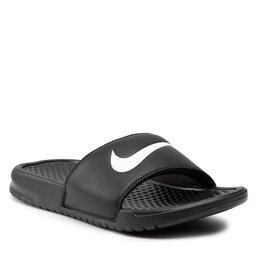 Nike Šlepetės Nike Benassi Swoosh 312432 010 Black/White