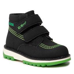 Kickers Auliniai batai Kickers Kickfun 878750-10 S Black/Green 81